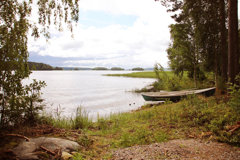Kujanpää-mökin veneranta